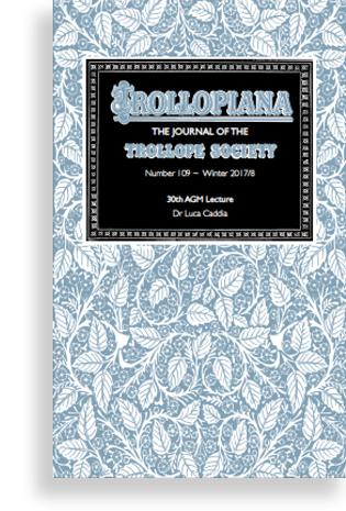 Trollopiana-109 cover