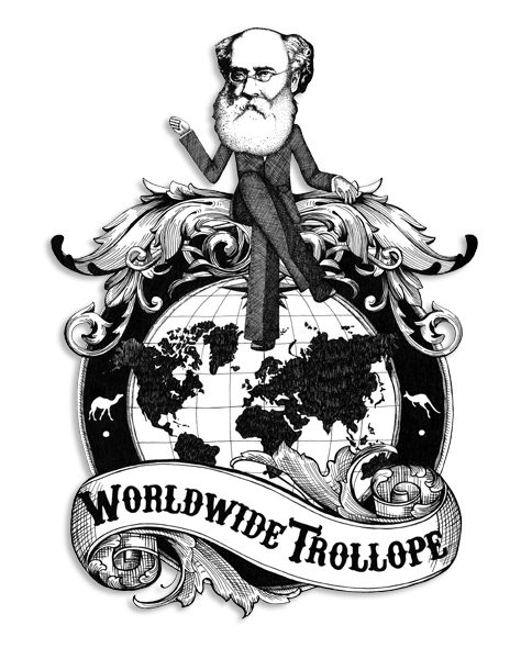 image of Trollope sitting on top of the world