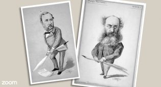 image of Charles Reade and Anthony Trollope