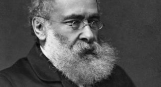 profile photograph of Anthony Trollope