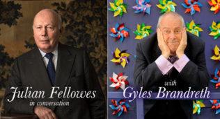 image of Julian Fellowes and Gyles Brandreth