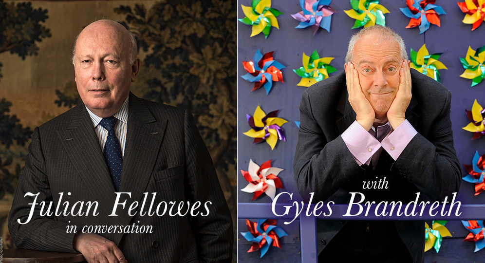 image of Julian Fellowes and Gyles Brandreth