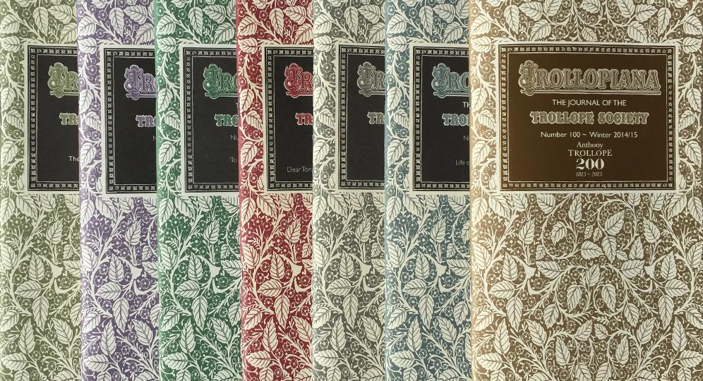 Row of Trollopiana editions