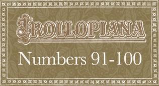Trollopiana 91-100