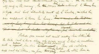 The Duke's Children manuscript
